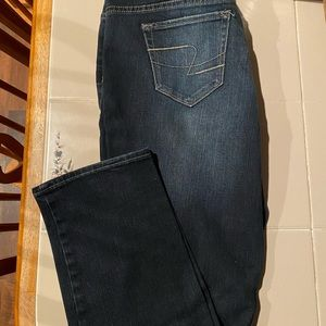 Maurices 7/8 Xtra-Short Boot Cut Jeans